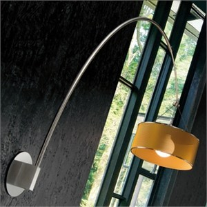 Steel Arc Wall Lamp